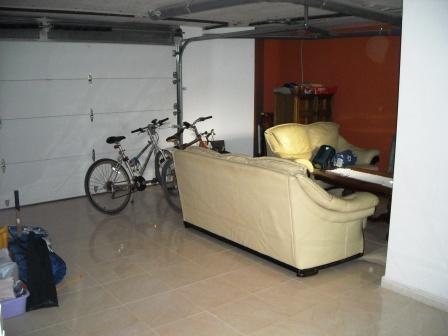 Garage and games room