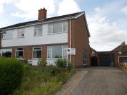 3 bedroom semi detached property in Brookside Close, Bedale...