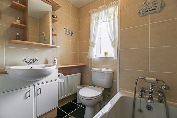 Bathroom = 2m * 1.9m