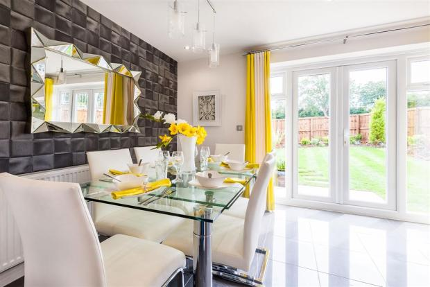 Actual Gosford show home at Pipers Green