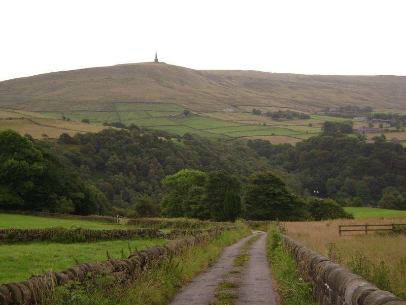 Views along  lane