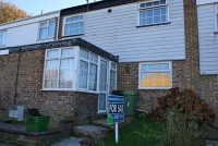Terraced property for sale in Foxglove Road, Eastbourne