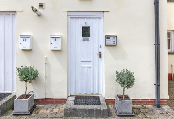 Exterior Front Door.