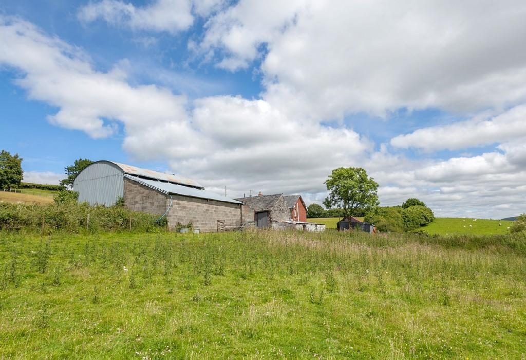 Farm buildings from