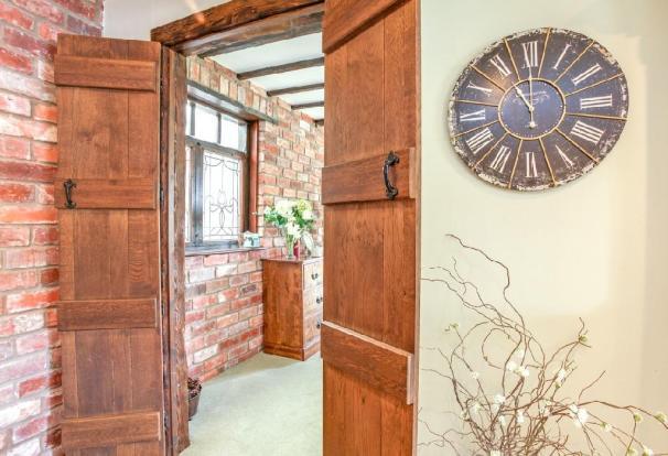 Kitchen Door Detail.