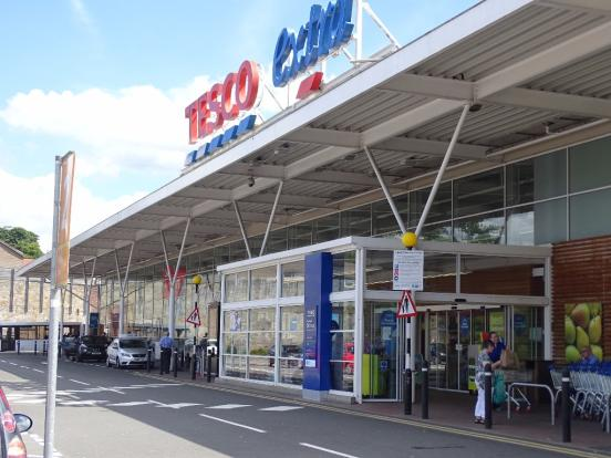 Tesco Nearby