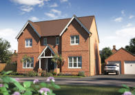 4 bed new property in Green Lane, Davenham...