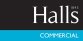 Halls Estate Agents, Shrewsbury - Commercial logo