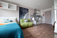 Studio apartment in Russell Street, Leeds...