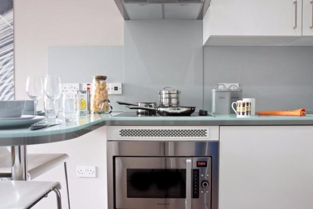 High-gloss kitchens