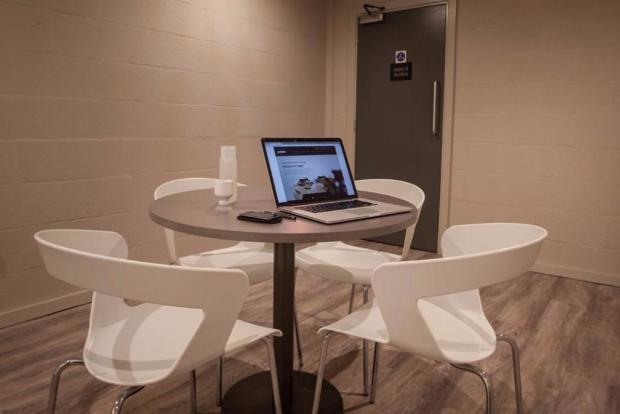 Quiet seminar rooms