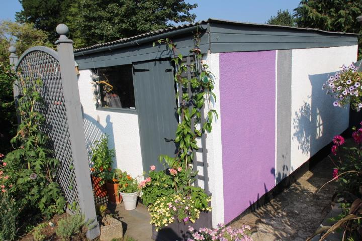 GARAGE WITH REAR ACCESS