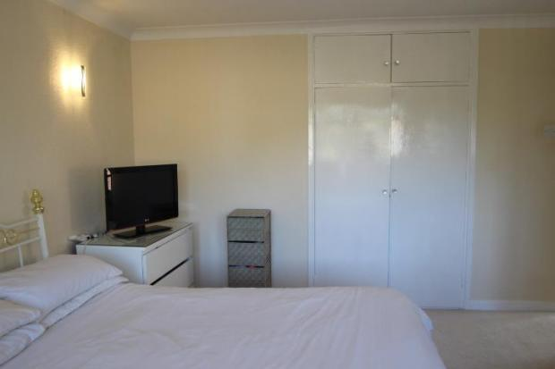 Bedroom 1 with built in wardrobes