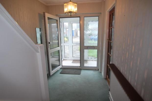 Hallway/porch