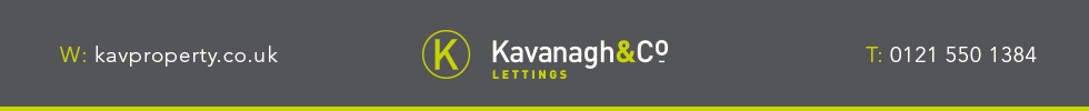 Get brand editions for Kavanagh & Co Lettings, Halesowen