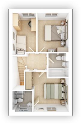 Taylor WImpey - Gosford- FF Floor plan