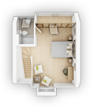 Taylor WImpey - Crofton G - SF Floor plan