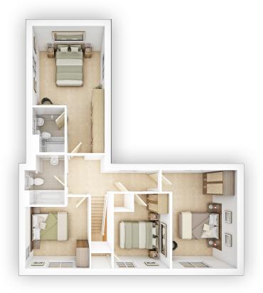 Taylor WImpey - Langdale - FF Floor plan