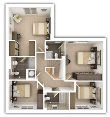 Taylor_Wimpey-Harringworth-4_bed-first_level_plan_3d