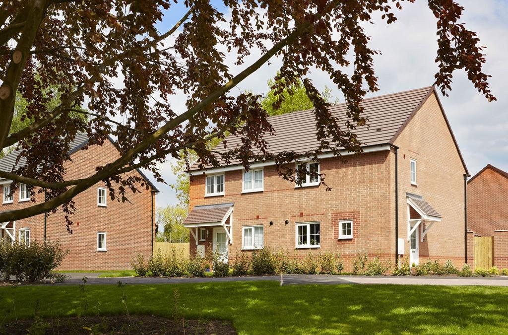 Barwick style three bedroom homes in Yarnfield