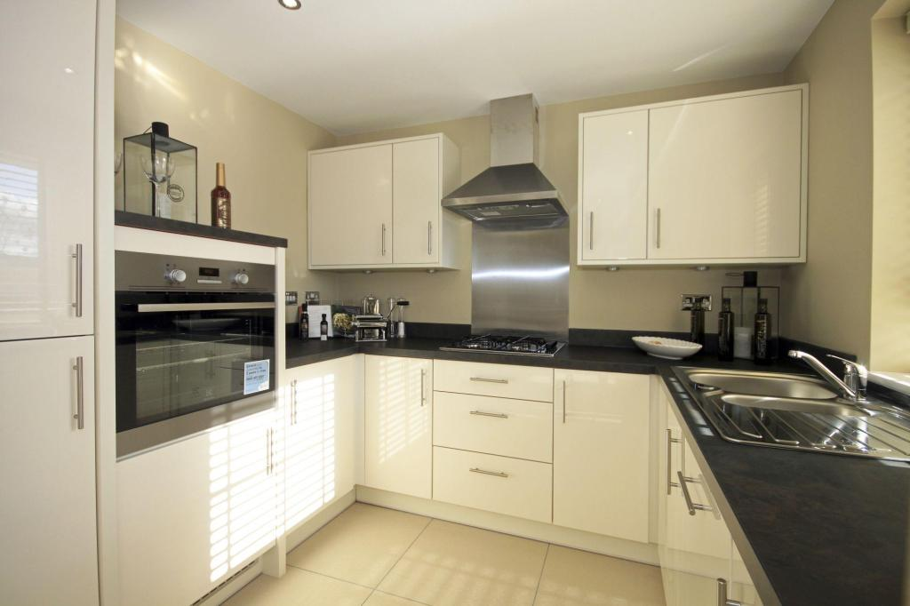 Typical Somerton fitted kitchen