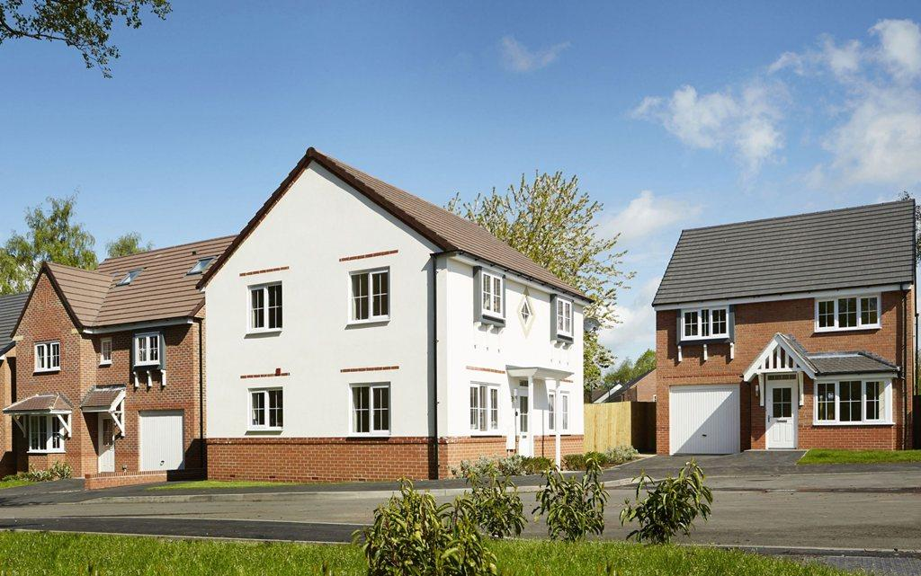 Four bedroom homes in the village of Yarnfield