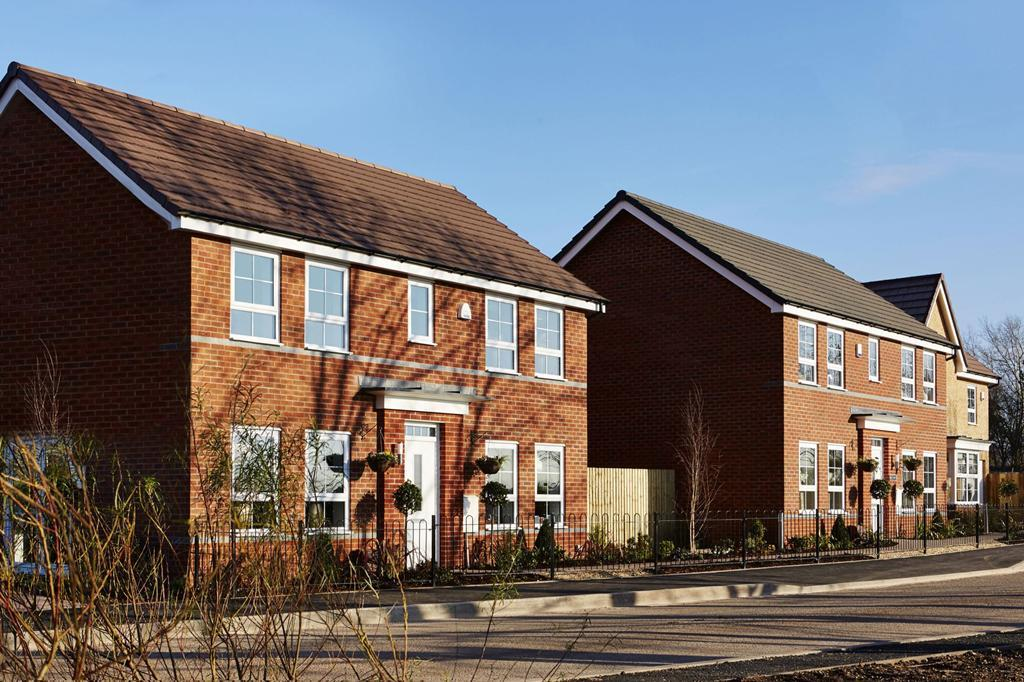Yarnfield Park show homes