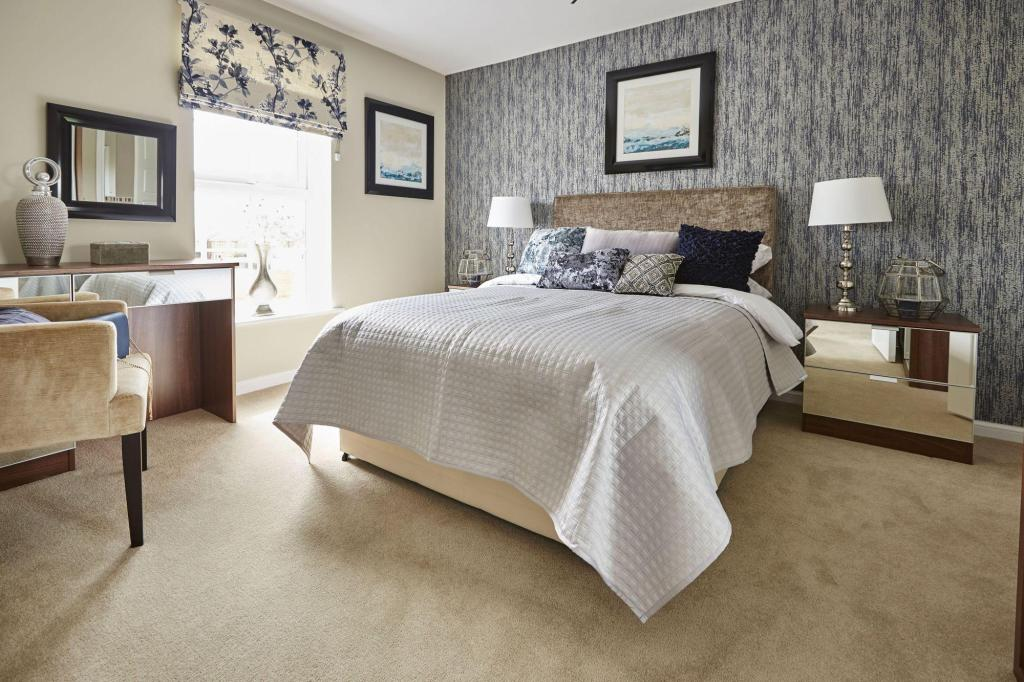 Yarnfield Park Somerfield show home second bedroom