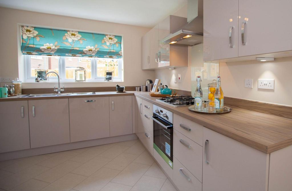 Typical Thornbury fitted kitchen