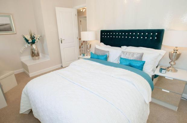 Typical Thornbury second bedroom
