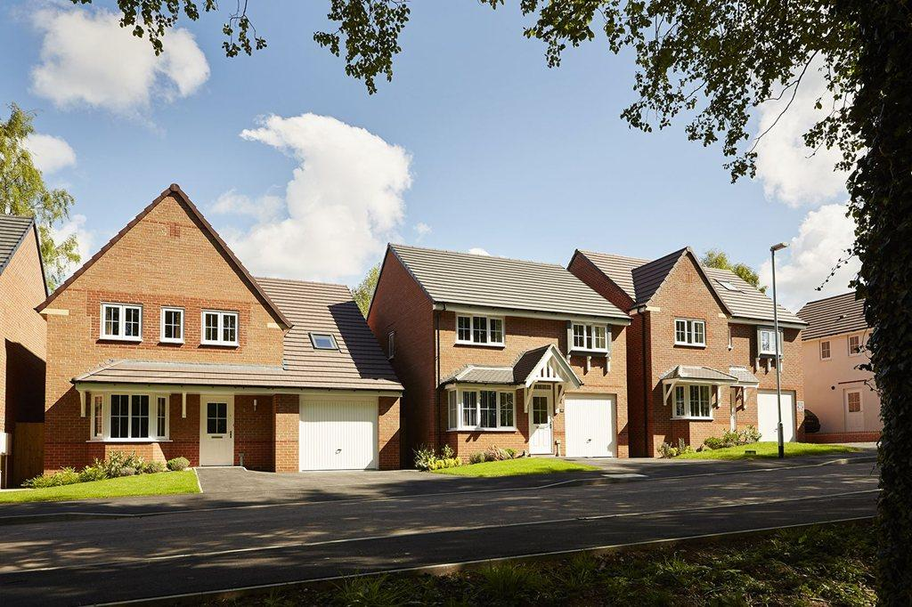 Four and five bedroom family homes at Yarnfield Park