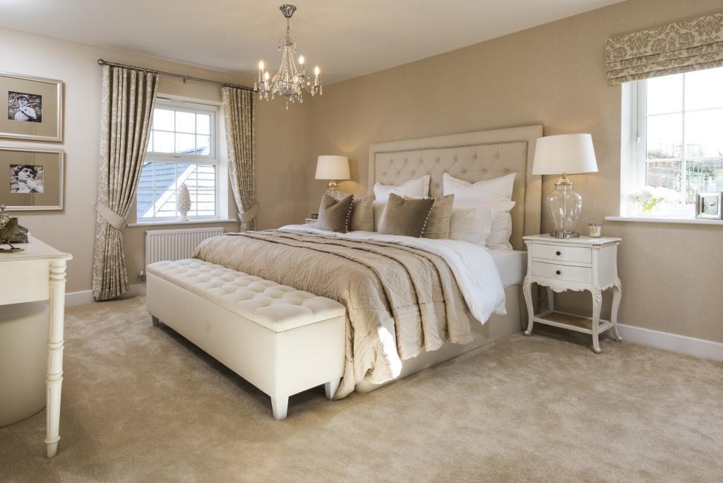 Typical Harrogate master bedroom