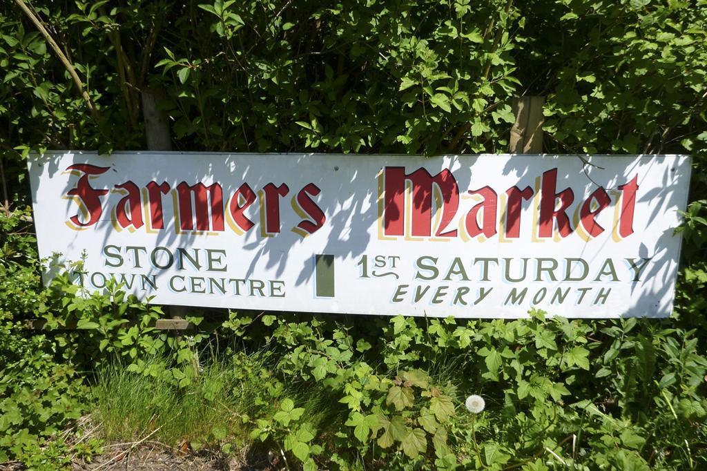 Farmers Market held in Stone, near Yarnfield Park