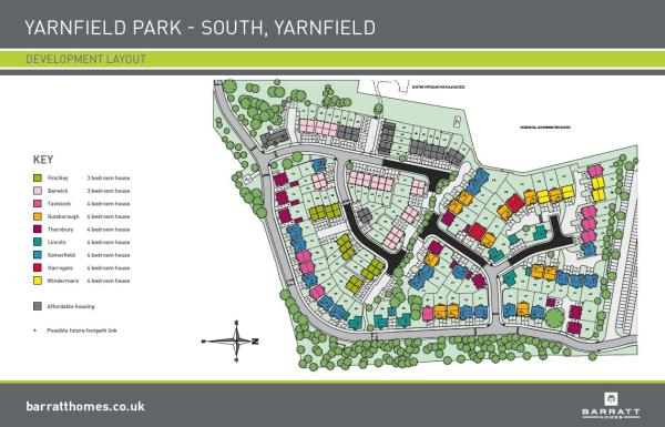 Yarnfield Park New Homes Development By Barratt