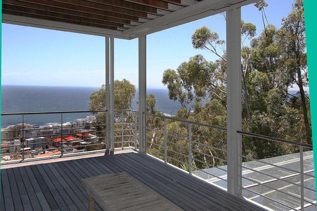Wooden deck views