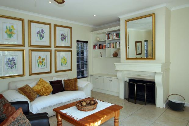 Lounge & wood-burner
