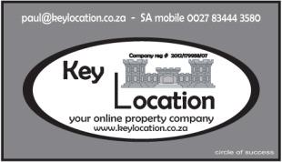 Key Location, Cape Townbranch details