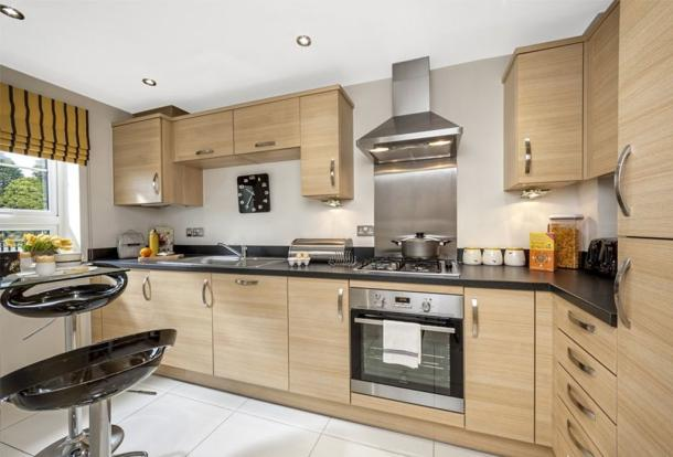 The Abingdon kitchen at Cissbury Chase, Worthing