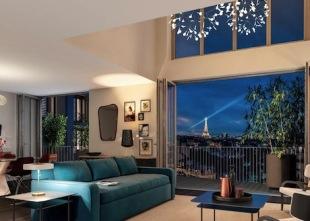 1 bedroom new Studio apartment in Paris-Isle of France...