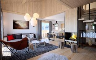 new development in Alpe d`Huez, Isère...