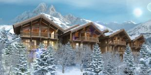 3 bed new development in Méribel, Savoie...