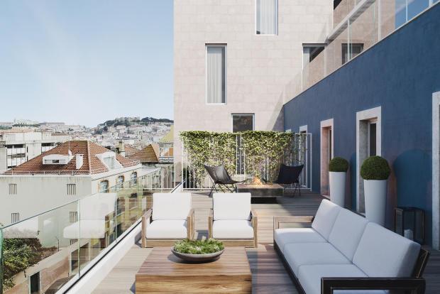 Large terraces