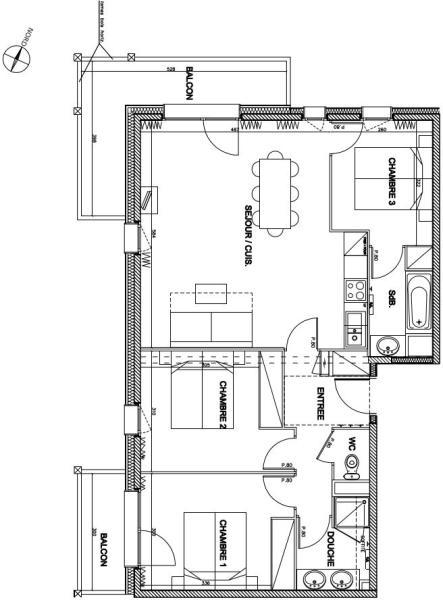 Floor Plan 3-bed