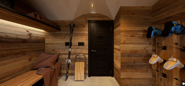 Ski room