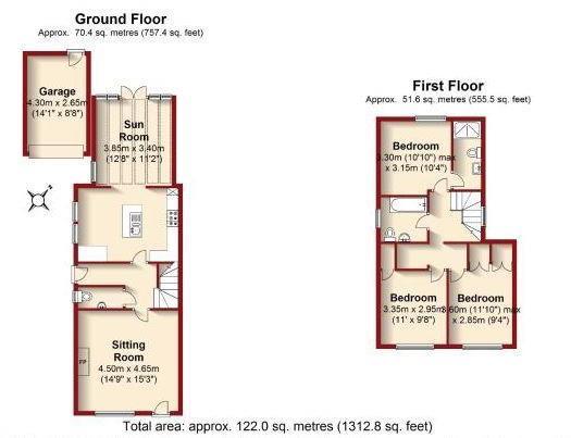 Ash View Floor Plan.