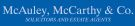 McAuley McCarthy & Co., Renfrew branch logo