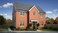 4 bed new property for sale in Barton Road, Farndon, CH3