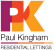 Paul Kingham Residential Lettings, High Wycombe  logo