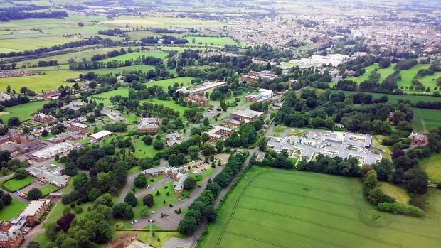Aerial Estate Shot