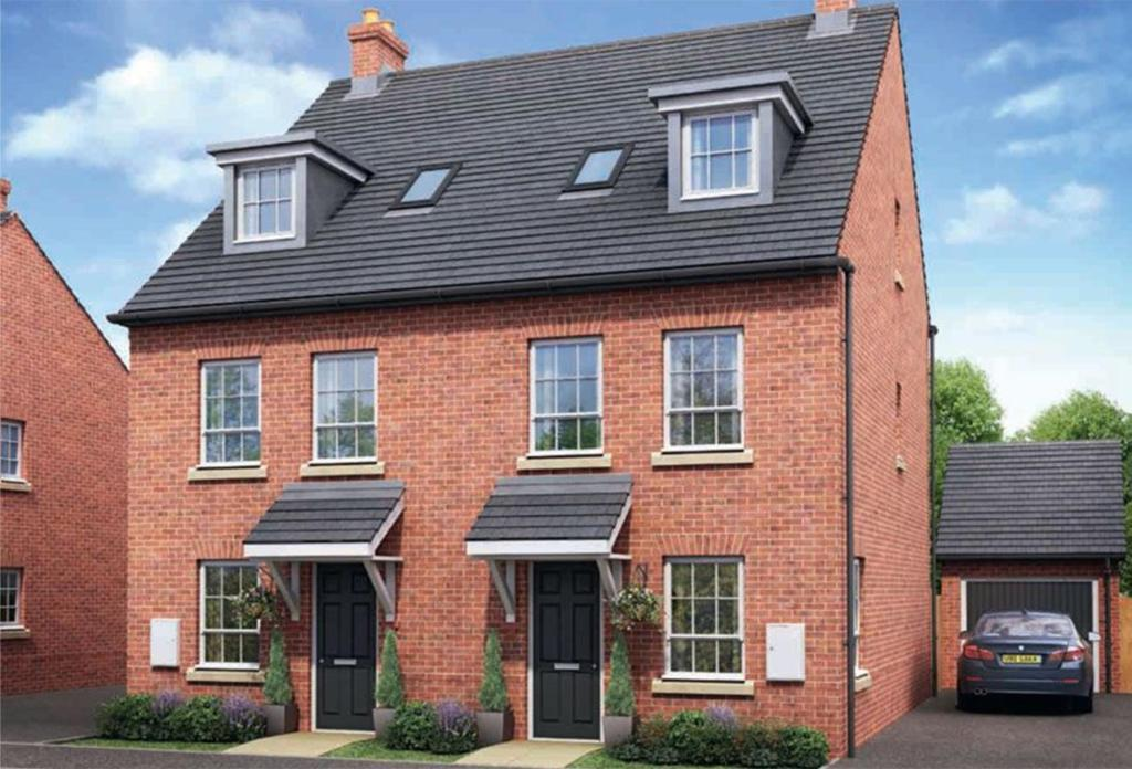 4 bedroom semi detached house for sale in pentland road for Ashby homes